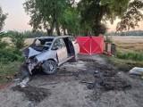 Śmiertelny wypadek w Gronajnach. Zginęło dwóch mężczyzn, trzeci trafił do szpitala. Policja bada okoliczności zdarzenia