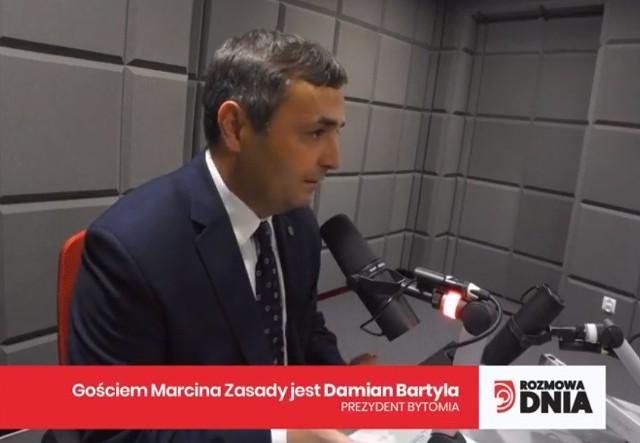Dziś Gościem Dnia DZ i Radia Piekary był Damian Bartla, prezydent Bytomia