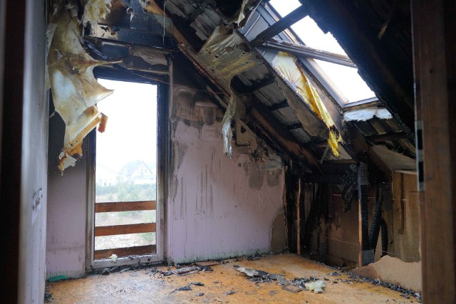 W pożarze stracili dom. Zbierają środki na budowę nowego