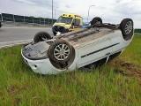 Zderzenia aut w Mąkowarsku, Żołędowie, Borównie. Na drogach w weekend nie było bezpiecznie (zdjęcia)