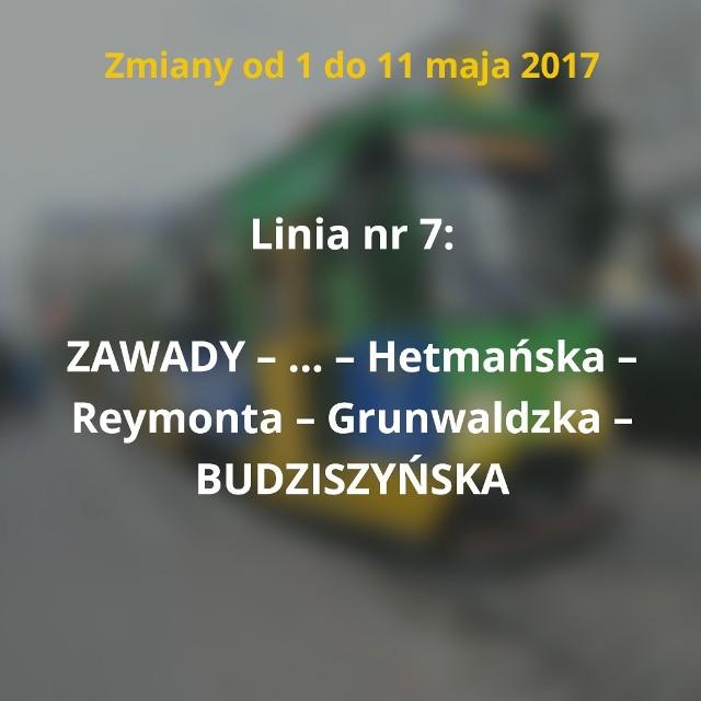 Od 1 do 11 maja trasy zmienią cztery linie MPK Poznań. Objazdy związane są z remontami przejazdów przez torowiska na ul. Przybyszewskiego (na skrzyżowaniach z ul. Marcelińską i Szamarzewskiego).Sprawdź, jak w tym czasie będą jeździć tramwaje i autobusy. Przejdź do kolejnego zdjęcia --->