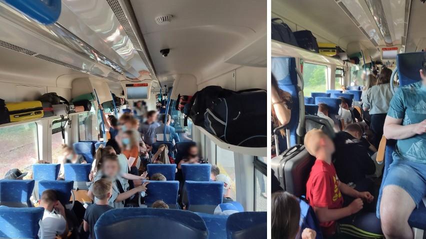 Tłok w pociągu relacji Szczecinek - Szczecin. Polregio: w miarę możliwości składy będą większe – 18.06.2021