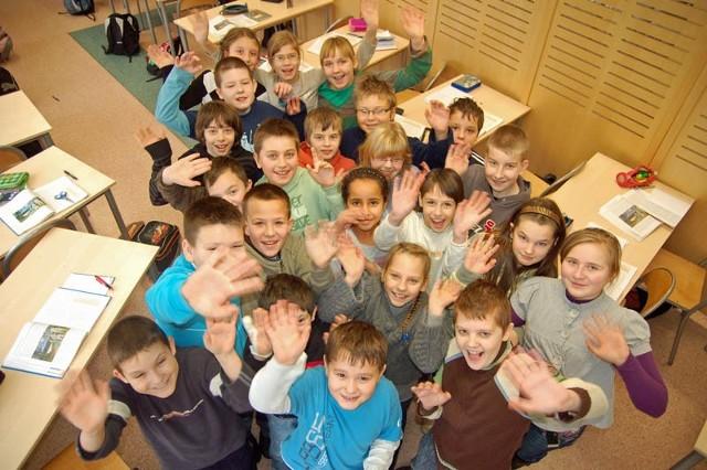 """Dzieci z klasy IVb szczecineckiej """"szóstki"""" także wezmą udział w programie """"Każdy ma szansę na sukces""""."""