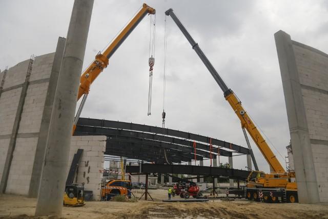 W Rzeszowie trwa budowa Podkarpackiego Centrum Lekkoatletycznego.