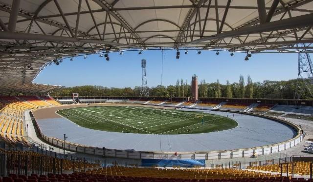 W kwietniu na Stadionie Olimpijskim przetestowano system zabezpieczający przed opadami