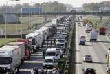 Dramat na drodze! Ponad 50 kilometrów korka na autostradzie A4 Zgorzelec - Wrocław