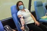"""W Miastku zebrano prawie 18 litrów krwi. Akcja """"Gryfa"""" i ZSP w Łodzierzy (ZDJĘCIA)"""