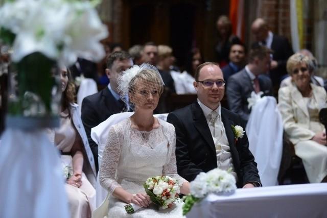 Zwycięzcy plebiscytu Narzeczona Para wzięli ślub