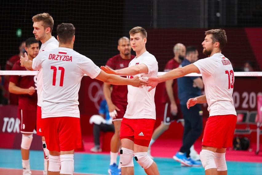 Mecz Polska - Wenezuela na igrzyskach w Tokio 2020.