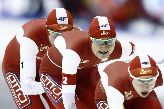 Drużyna polskich panczenistek w ostatnich zawodach Pucharu Świata zajęła 3. miejsce