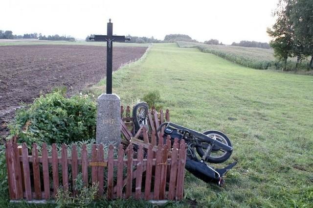 Śmiertelny wypadek motocyklisty we wsi Lipowo