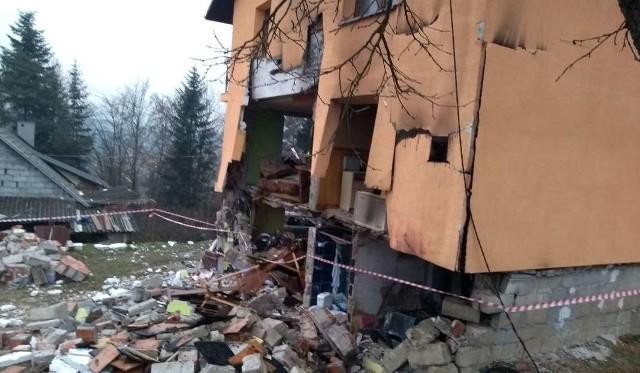 W domu w Olszance wybuchła butla z gazem
