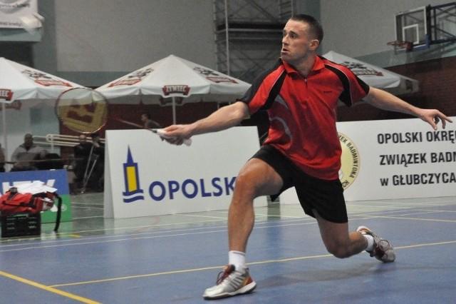 Badmintonista Technika Głubczyce.