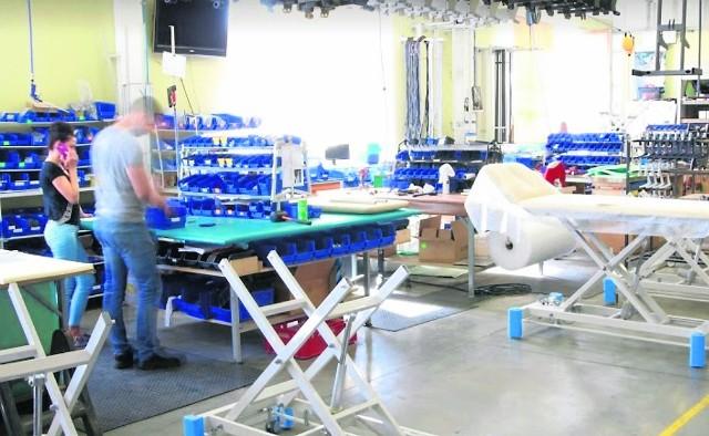 Dzięki wsparciu unijnemu producent sprzętu medycznego MEDEN - INMED z Koszalina usprawni proces produkcyjny, doposaży firmę, a w konsekwencji - będzie mógł podwoić produkcję