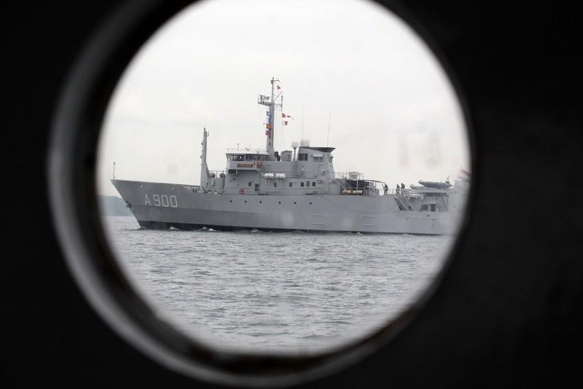 Manewry morskie Baltops 2015. Do Gdyni przypłynie ponad czterdzieści okrętów