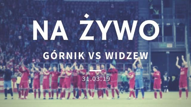Górnik Łęczna - Widzew Łódź: relacja na żywo!