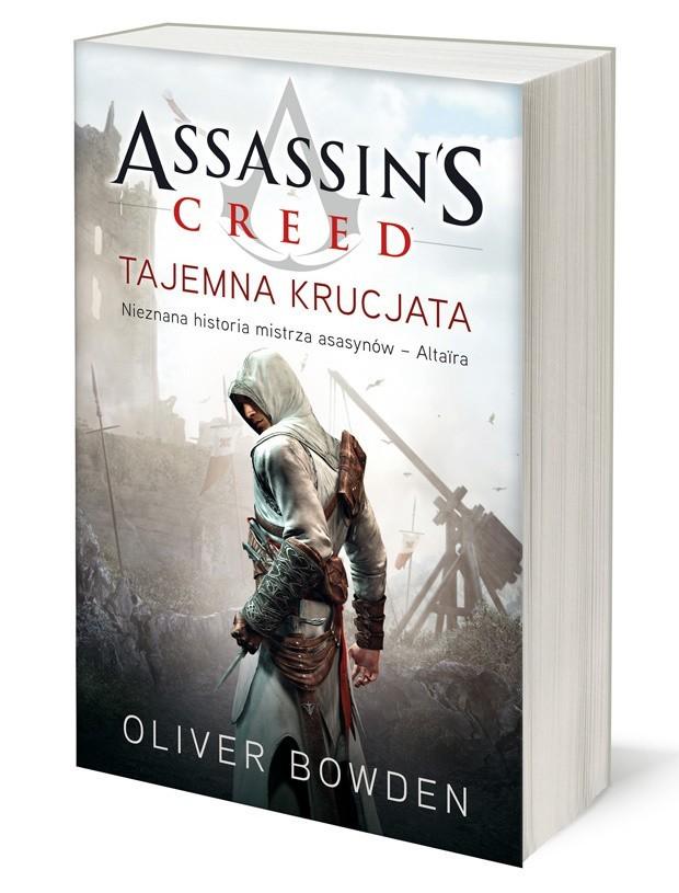 """Książka oparta jest na grze firmy Ubisoft """"Assassin's Creed: Brotherhood""""."""
