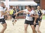Sportowe emocje na plaży w centrum miasta Łodzi!