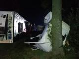 Korycin. Tragiczny wypadek na DK8 w relacji służb. Zginął 18 letni kierowca osobówki, dwie osoby ranne [ZDJĘCIA]