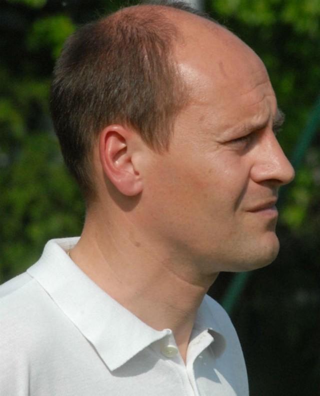 Trener Arkadiusz Stachyra pracował m.in. w Bratkowicach.