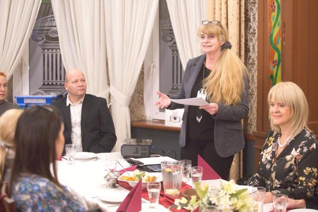 Spotkanie klubu Kiwanis w hotelu Atena