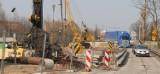Mostu nie ma, korki w Gołaszynie. Aż do końca września kierowcy skazani na kłopoty