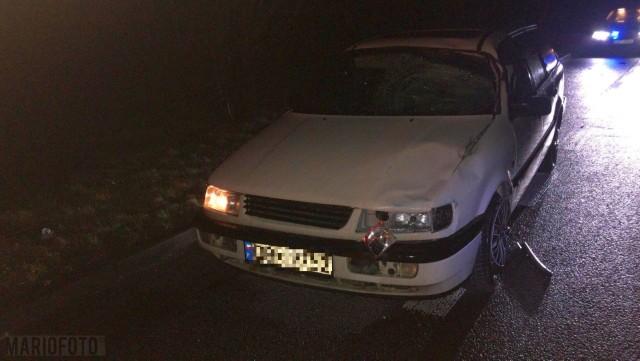 Wypadek w Makowicach. Śmiertelne potrącenie pieszego