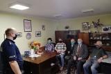 Koluszkowscy policjanci spotkali się z seniorami. Przestrzegali ich przed oszustami
