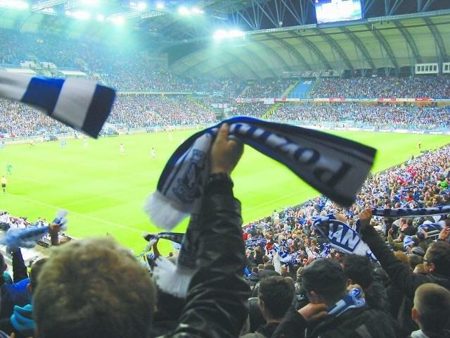 Stadion poznańskiego Lecha i jego fani już dziś są gotowi na przyjęcie i kibicowanie uczestnikom EURO 2012.