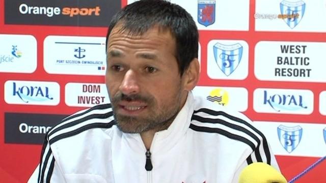 Mariusz Pawlak, trener Chojniczanki Chojnice.