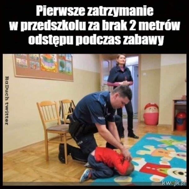 Najlepsze memy o przedszkolach i żłobkach w czasie pandemii....