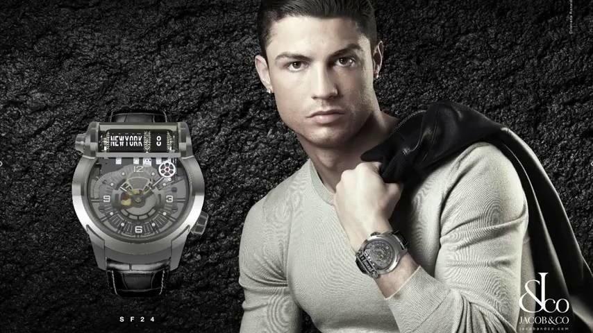 63e7d9075 Cristiano Ronaldo często występuje w roli fotomodela promując swoją twarzą  wiele produktów