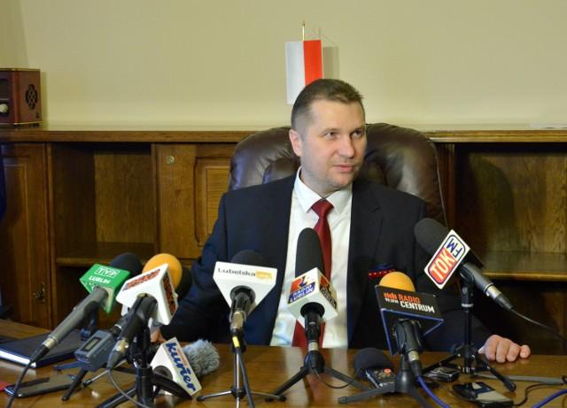 W zeszłym tygodniu wojewodą został prawnik Przemysław Czarnek