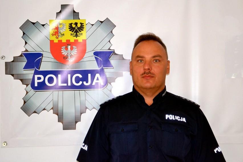 Aby zagłosować na asp. sztab. Pawła Marcinkowskiego wyślij...