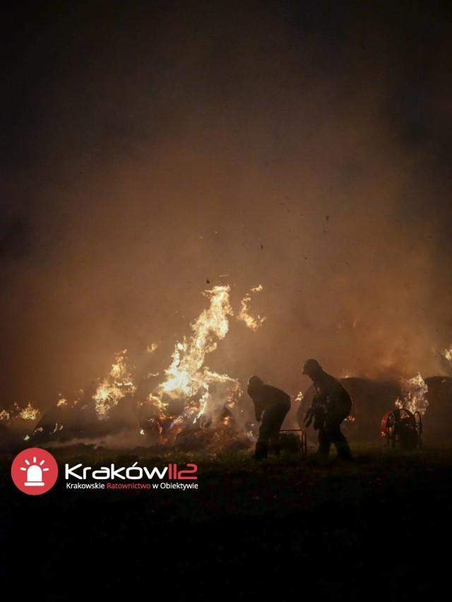 Pożar w Więckowicach