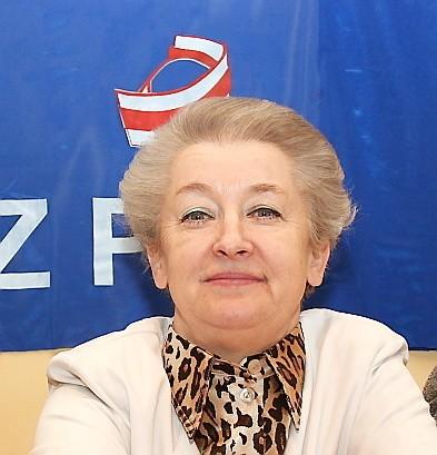 Anna Turek - przewodnicząca ZZPiP we włocławskim szpitalu