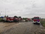Utrudnienia na trasie z Grodkowa do Głuchołaz. Strażacy kończą sprzątać plamę oleju