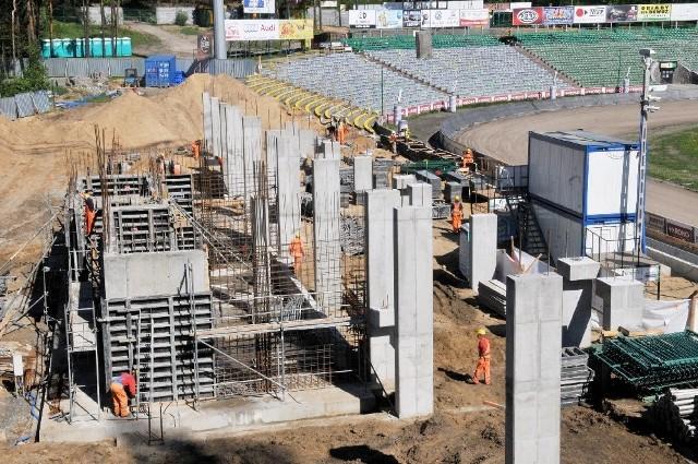 Dziś trudno określić, kiedy zakończą się prace remontowe na stadionie