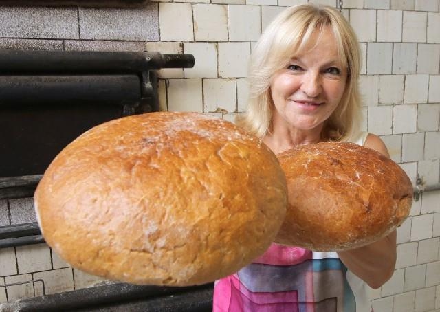 Halina Dobrowolska, właścicielka kieleckiej piekarni.