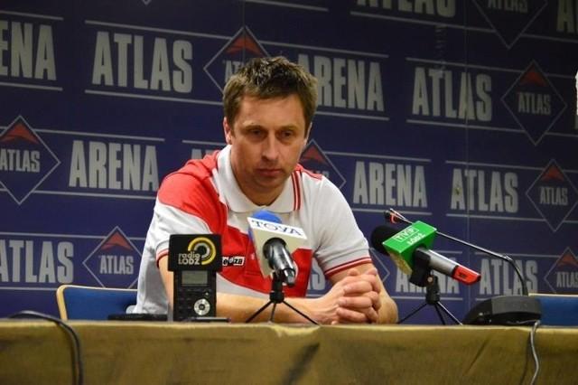 Wojciech Robaszek, szkoleniowiec Łódzkiego Klubu Sportowego.