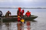 """""""Biały szkwał"""" i widowiskowa akcja służb na jeziorze Resko. Zobacz zdjęcia"""