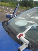 Wypadek na DK1 za Częstochową. TIR staranował dwa samochody osobowe. Ruch odbywa się jednym pasem