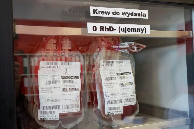 W RCKiK brakuje krwi. Centrum apeluje do dawców, aby zgłaszali się o oddawali krew.
