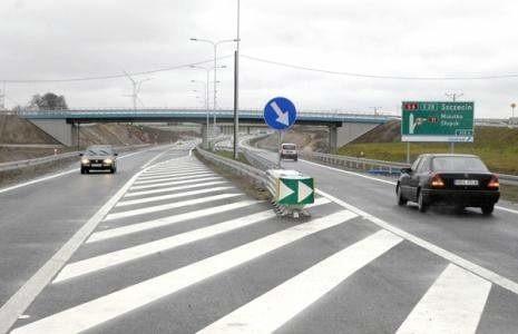 Obwodnica Słupska jest częścią drogi ekspresowej S6.