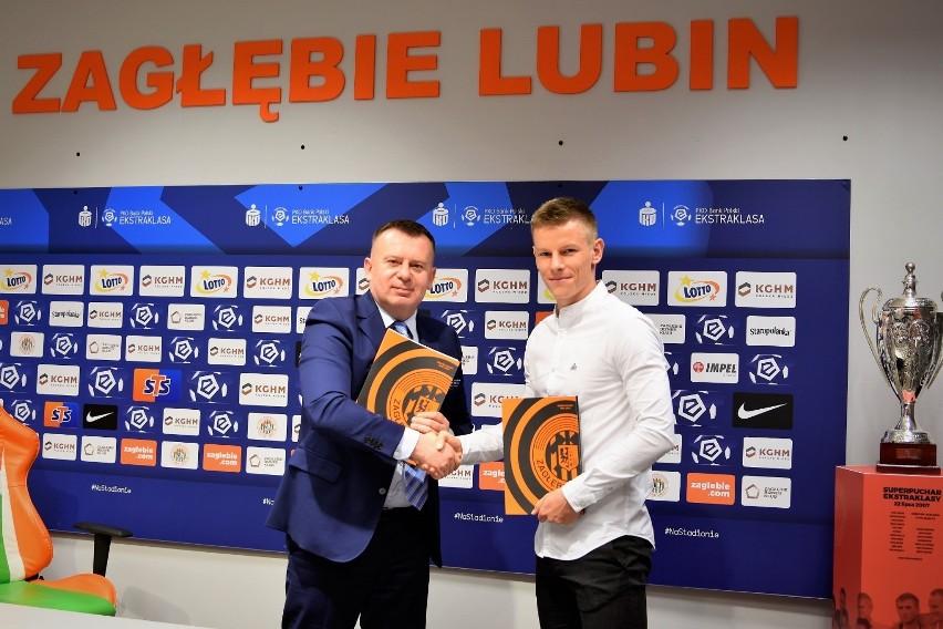 Jakub Żubrowski podpisał trzyletni kontrakt z Zagłębiem Lubin