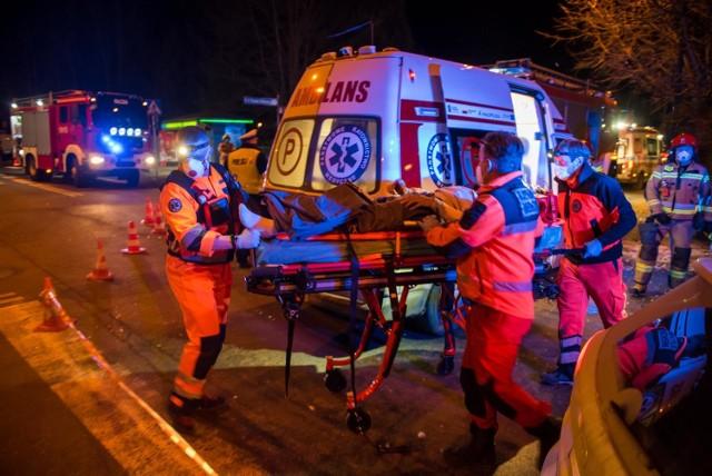 W sobotę wieczorem doszło do wypadku w Zakopanem. Jedna osoba została ranna.