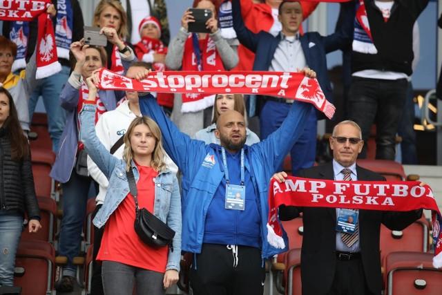 18.09.2021, Kraków: kibice na półfinale ME w amp futbolu Polska - Hiszpania