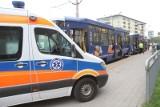 Pasażerka zasłabła w tramwaju. Objazdy w centrum
