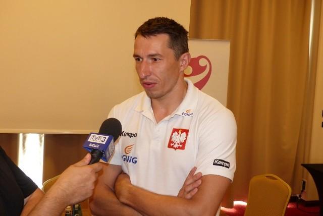 Sławomir Szmal, bramkarz piłkarzy ręcznych.