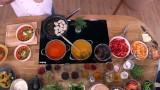 Kuchnia z mieszanką warzyw. Krzysztof Szulborski i jego przepisy